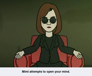 mimi morpheus cartoon