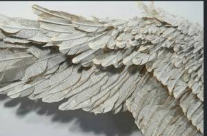 on wings of words I fly into your heart