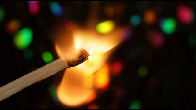 light a match